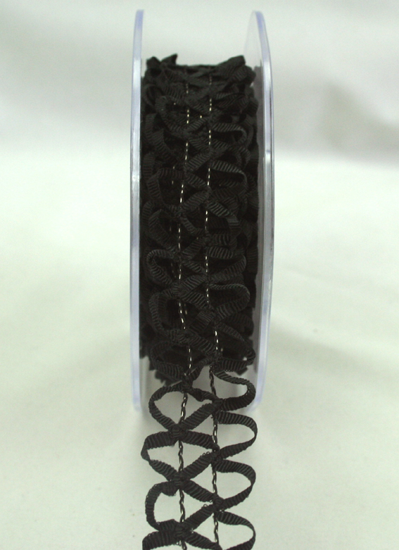 25mm Lattice 10m roll Black