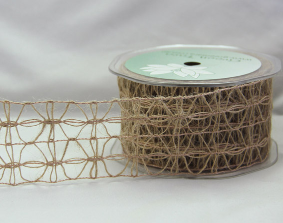 50mm Jute Lattice 10m Natural
