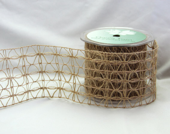 75mm Jute Lattice 10m