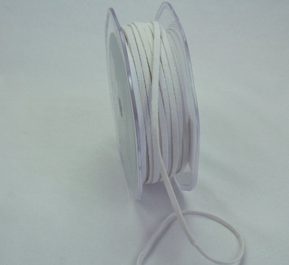 3mm Suede Cord 50m Off White