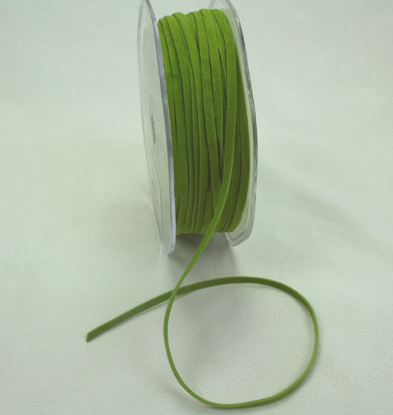 3mm Suede Cord 50m Olive