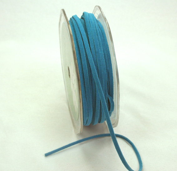 3mm Suede Cord 50m Teal