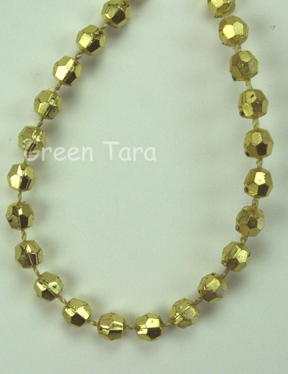 3mm Bead Garland, Gold
