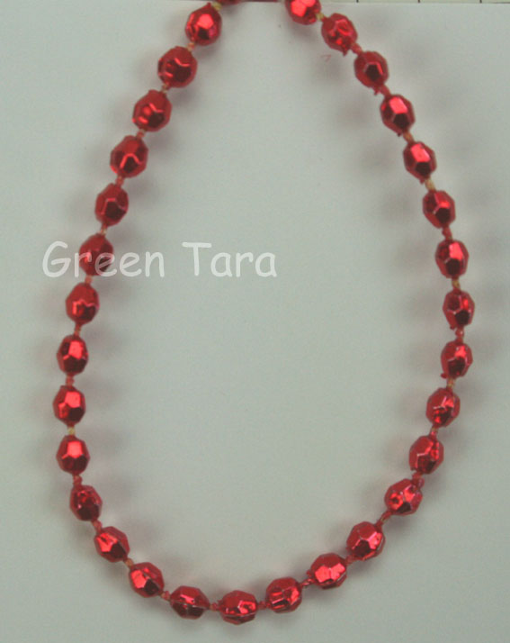 3mm Bead Garland, Red