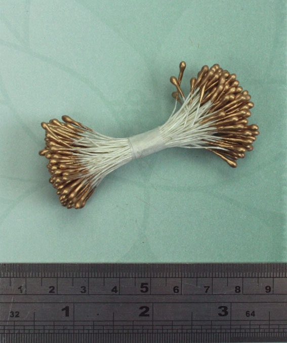 Stamen 60mm Gold Pearl