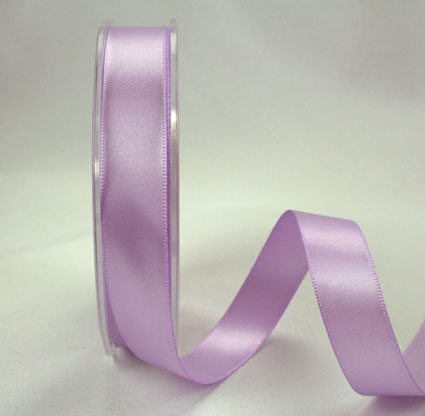 25mm Double Sided Satin 25m Lavender