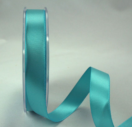 25mm Double Sided Satin 25m Sky Blue