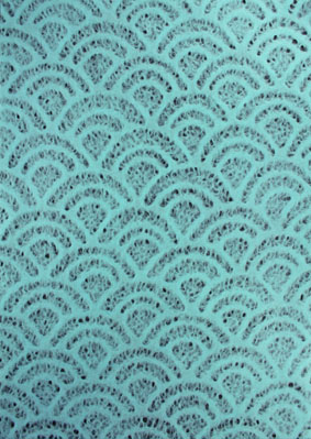 A4 Lace Pale Blue Shell