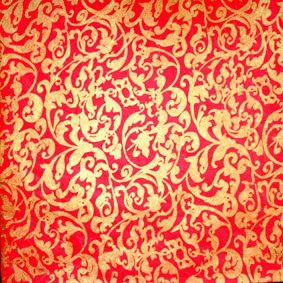 25 Sheets 12x12 Jaipur Red/Gold