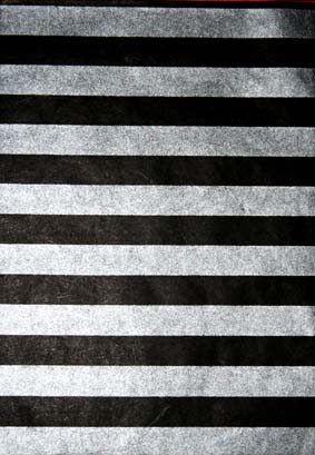 A4 Silver/Black Stripes