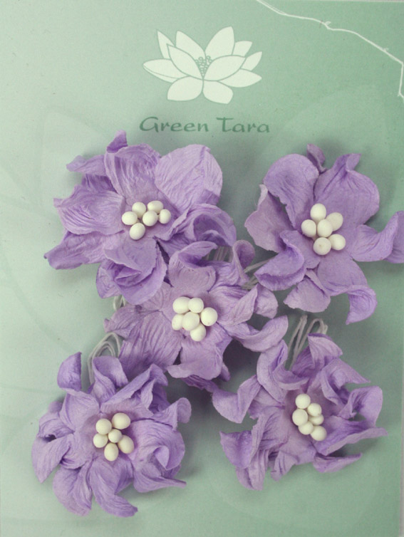 Pack of 5 Apple Blossoms, Lavender