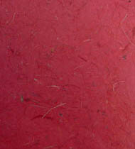 25 Sheets 12 x 12 Red Banana Fibre Paper