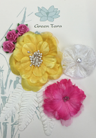 Fabric Flowers 'Summer Garden' Pack