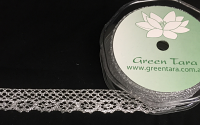 20mm Lurex Lace 10m Silver