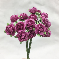**NEW** 100 Roses 1cm Raspberry