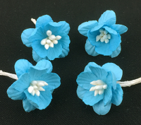 *NEW* 100 Cherry Blossoms 3cm Turquoise