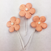 *NEW* 100 Flowers 1.5cm Peach