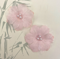 12 Forget me Not 4cm Pale Pink