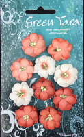 Pack 10 Cherry Blossoms, Peach 28mm