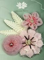 "Fabric Flowers ""Pink Blush"""
