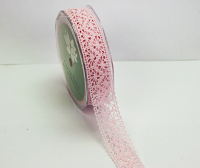 **NEW**10m Lace Ribbon, 22mm Pale Pink