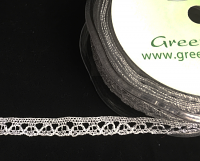 10mm Lurex Lace 20m Silver