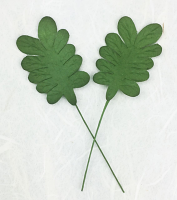 **NEW** 100  Paper Leaves 5cm. Green