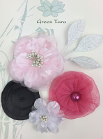 Fabric Flowers 'Dance Class' Pack