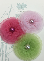 Fabric Flowers Tutu 1 pack